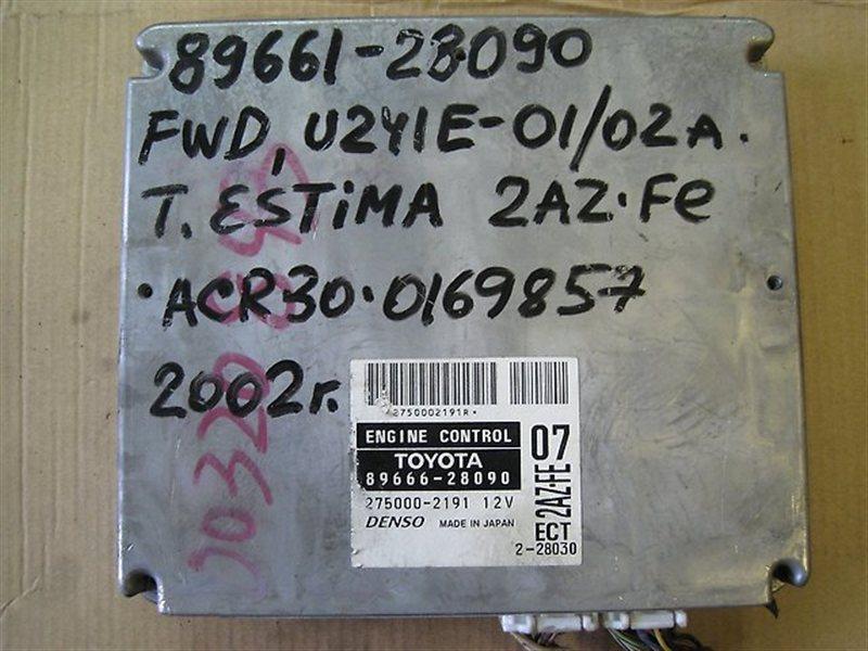 Блок управления двигателя Toyota Estima ACR30 2AZFE