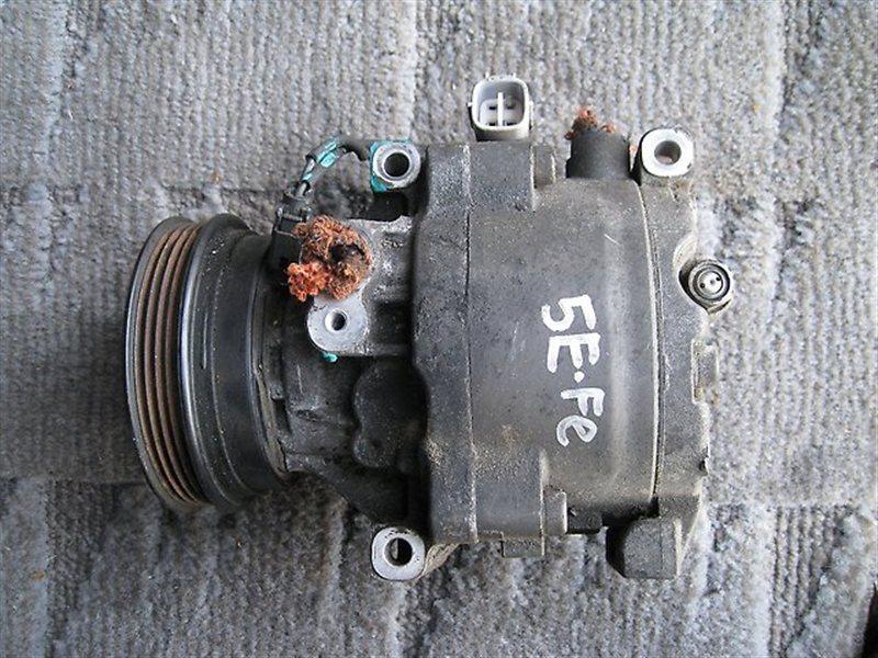 Компрессор кондиционера Toyota Starlet EP91 4EFTE