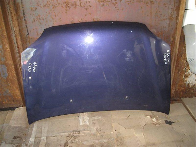 Капот Toyota Raum EXZ15 5EFE