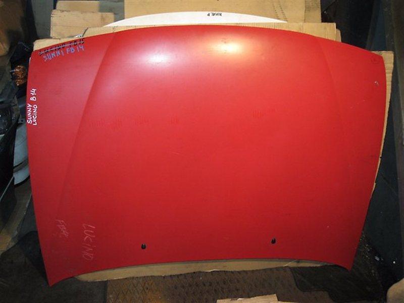 Капот Nissan Sunny B14 SR18DE