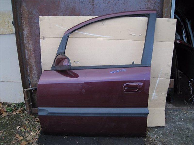 Дверь Subaru Traviq XM182 Z18 передняя левая