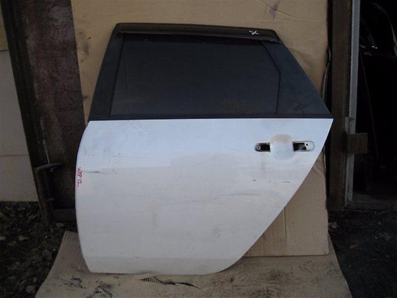 Дверь Nissan Primera WHP12 QR20DE задняя левая