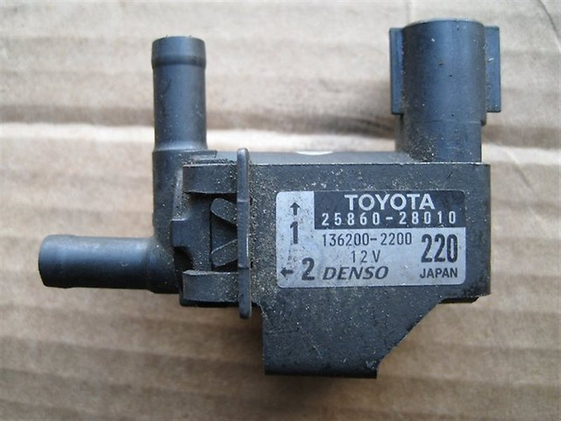 Клапан вакуумный Toyota Harrier ACU15 2AZFE