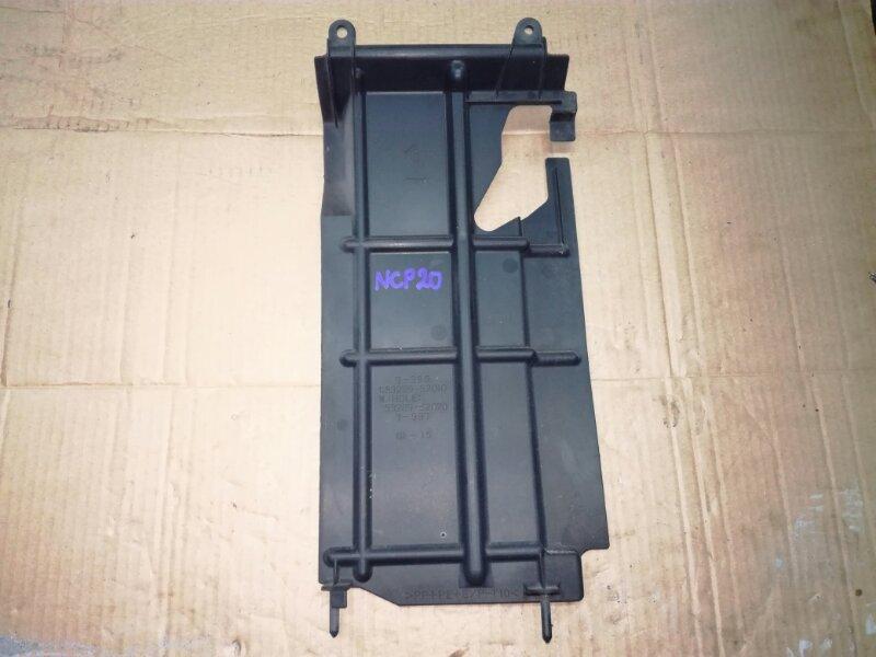 Защита радиатора Toyota Funcargo NCP20 1NZFE передняя