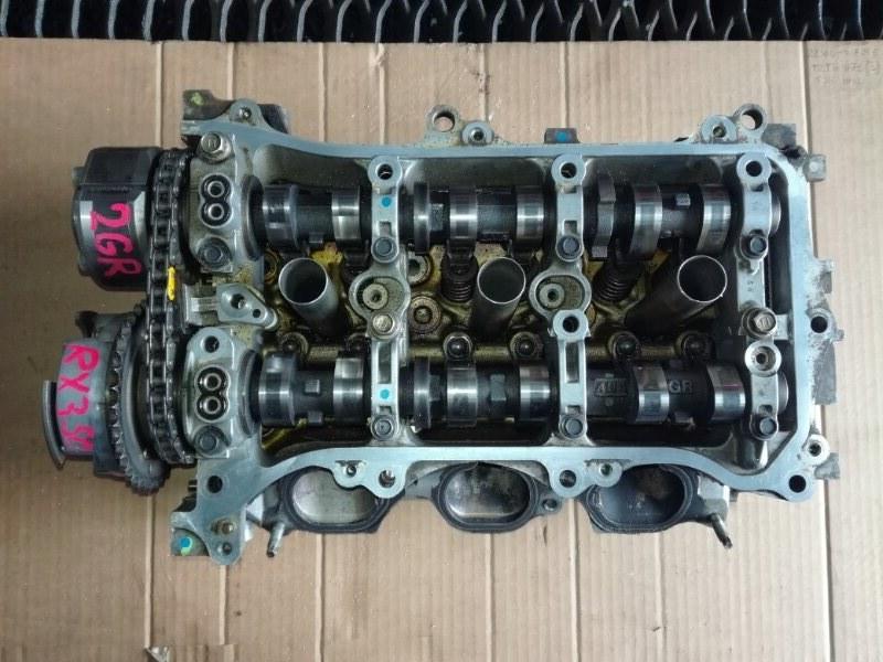 Головка блока цилиндров Lexus Rx350 2GRFE задняя