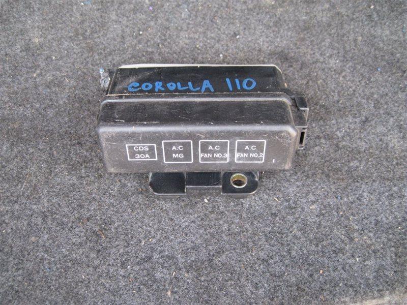Блок реле Toyota Corolla AE114 3CE