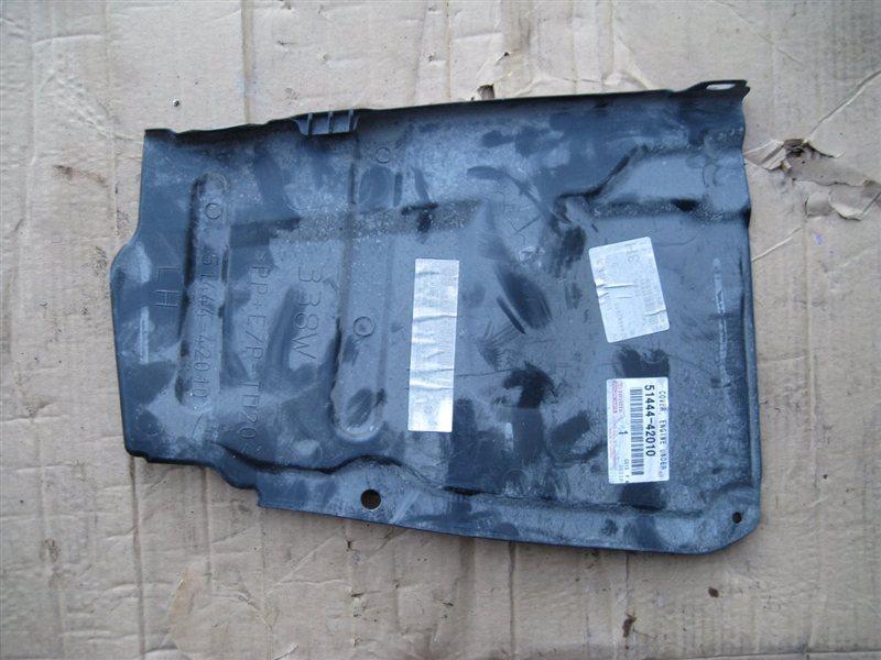 Защита двигателя пластиковая Toyota Rav4 ACA38 2AZFE левая