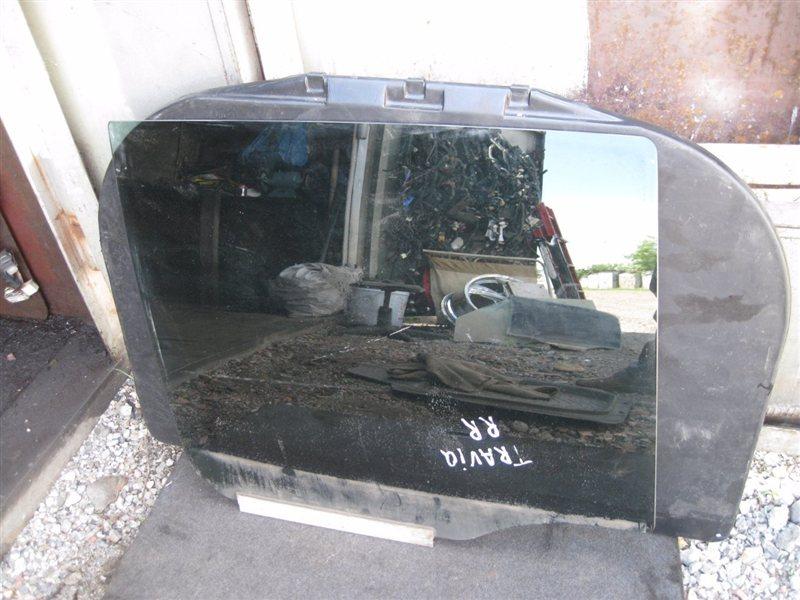 Стекло двери Subaru Traviq XM8 Z18XE заднее правое