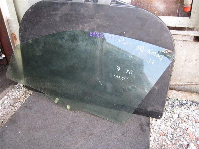 Стекло двери Mazda Demio DY3R переднее левое