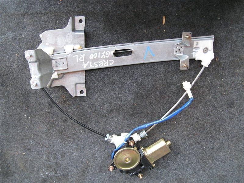 Стеклоподъемник Toyota Cresta GX105 1JZGTE задний левый