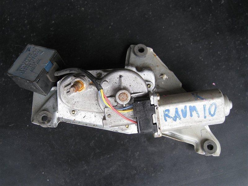 Мотор дворника Toyota Raum EXZ15 5EFE задний