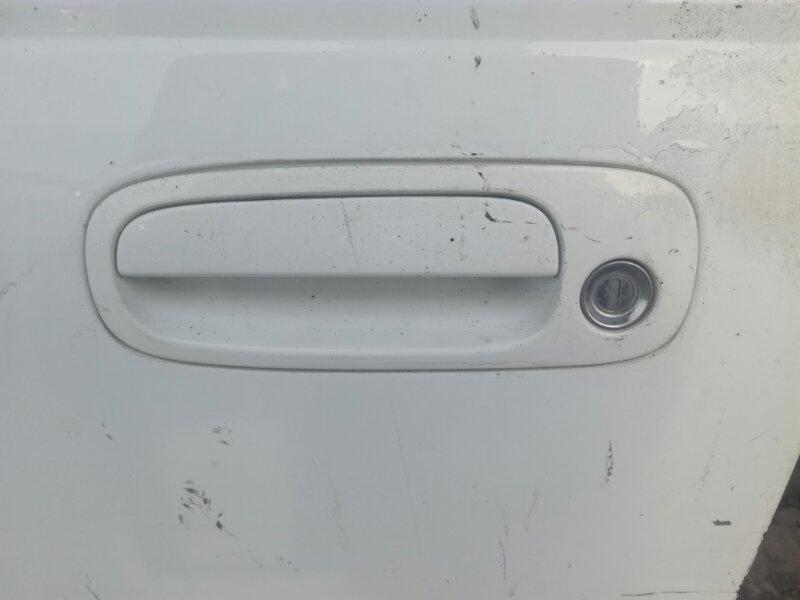Ручка двери внешняя Toyota Caldina CT215 3SFE передняя левая