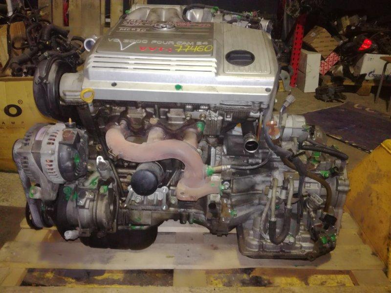 Двигатель Toyota Alphard MNH10 1MZFE