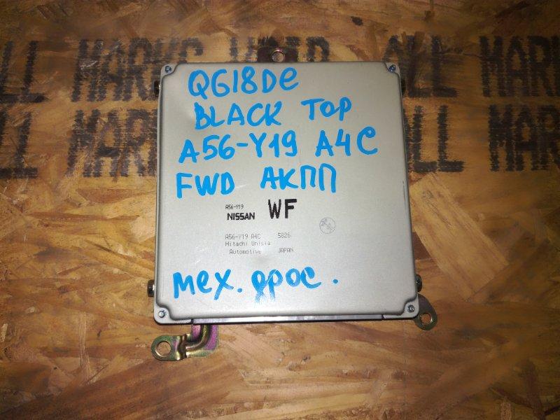 Блок управления двигателя Nissan Bluebird Sylphy QG10 QG18DE 2004
