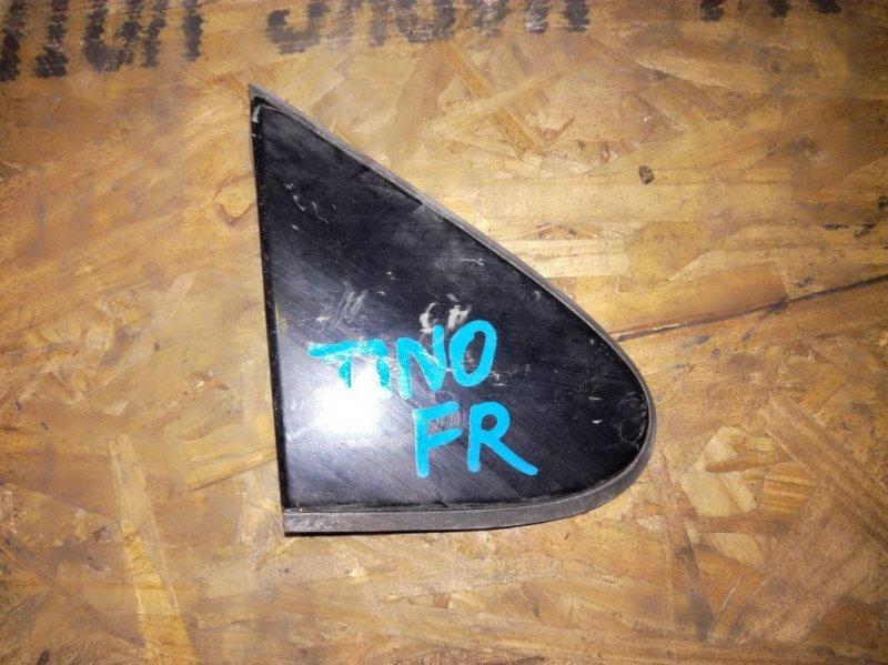 Уголок зеркала Nissan Almera Tino PV10 QG18EM295P передний правый