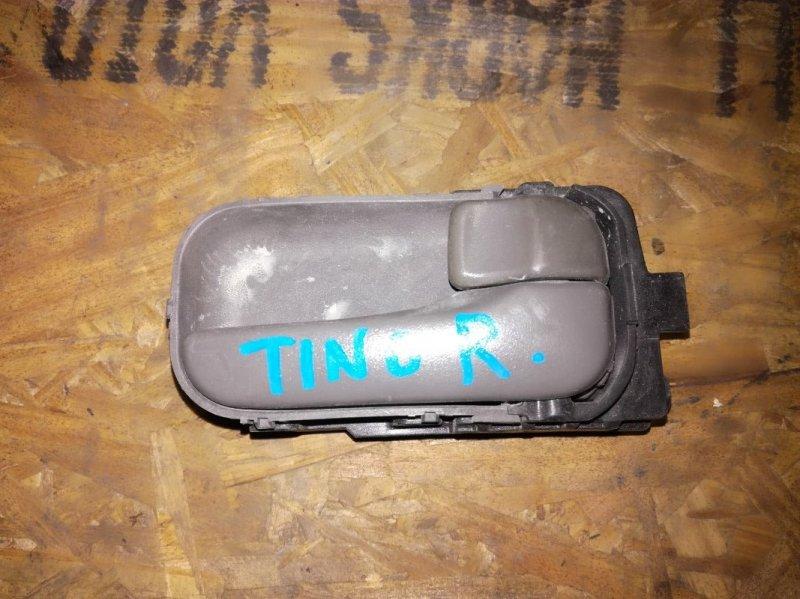 Ручка двери внутренняя Nissan Almera Tino HV10 SR20DE правая