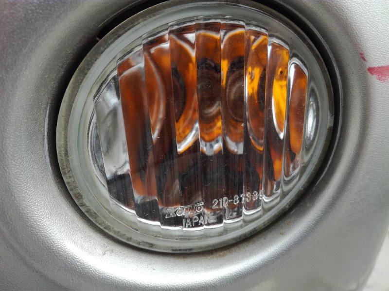Повторитель в бампер Mitsubishi Pajero Mini H58A передний левый