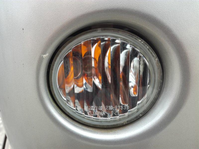 Повторитель в бампер Mitsubishi Pajero Mini H58A передний правый