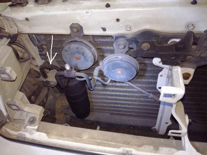 Шланг кондиционера Toyota Chaser JZX81 1GGTE