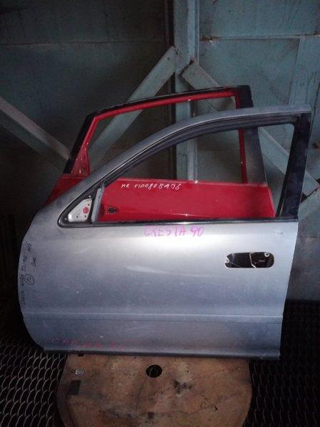 Дверь Toyota Cresta GX90 1GFE 1992 передняя левая