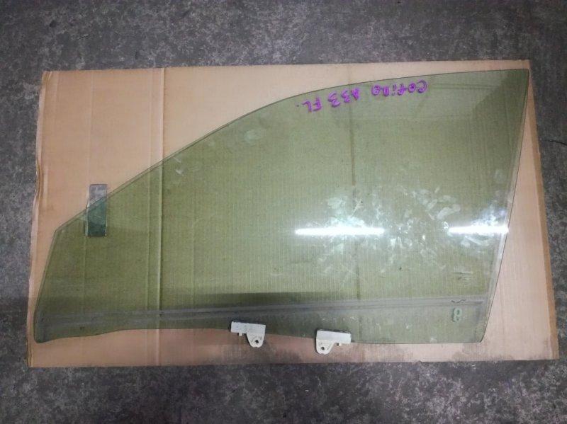 Стекло двери Nissan Cefiro A33 VQ20DE переднее левое