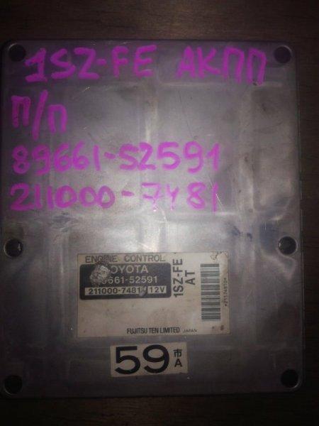 Блок управления двигателя Toyota Platz SCP10 1SZFE