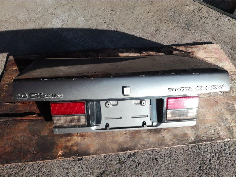 Крышка багажника Toyota Corona AT170 2C 1987