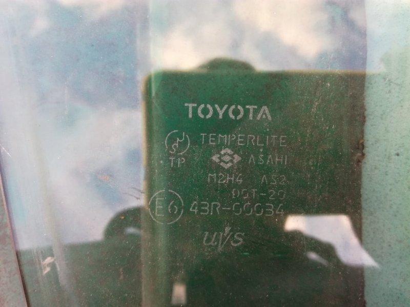 Стекло двери Toyota Is200 GXE10 1GFE переднее правое
