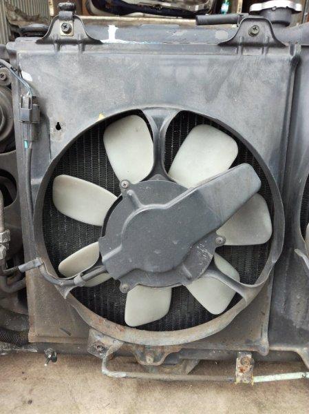 Вентилятор радиатора кондиционера Mitsubishi Diamante F07W 6G72 левый