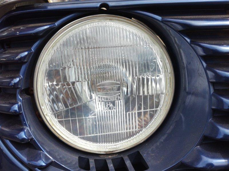 Фара Mitsubishi Pajero Mini L044G 4A30 передняя левая