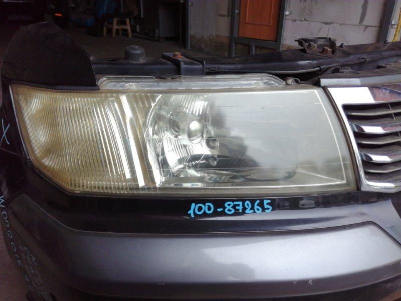 Фара Mitsubishi Chariot Grandis N84W 4G64 1997 передняя правая