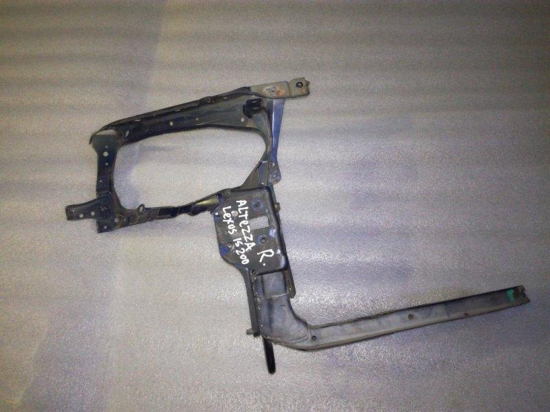 Рамка радиатора Toyota Altezza GXE10 1GFE передняя правая
