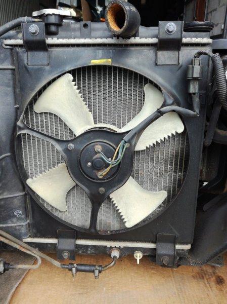 Вентилятор радиатора кондиционера Mitsubishi Diamante F31A 6G72 правый