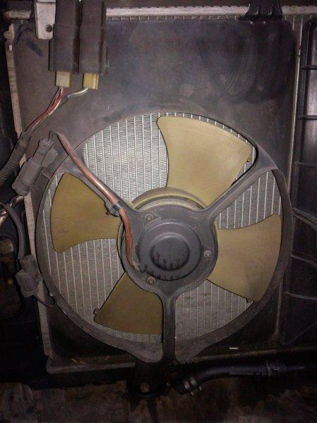 Вентилятор радиатора кондиционера Honda Odyssey RA1 F22B 1994 левый