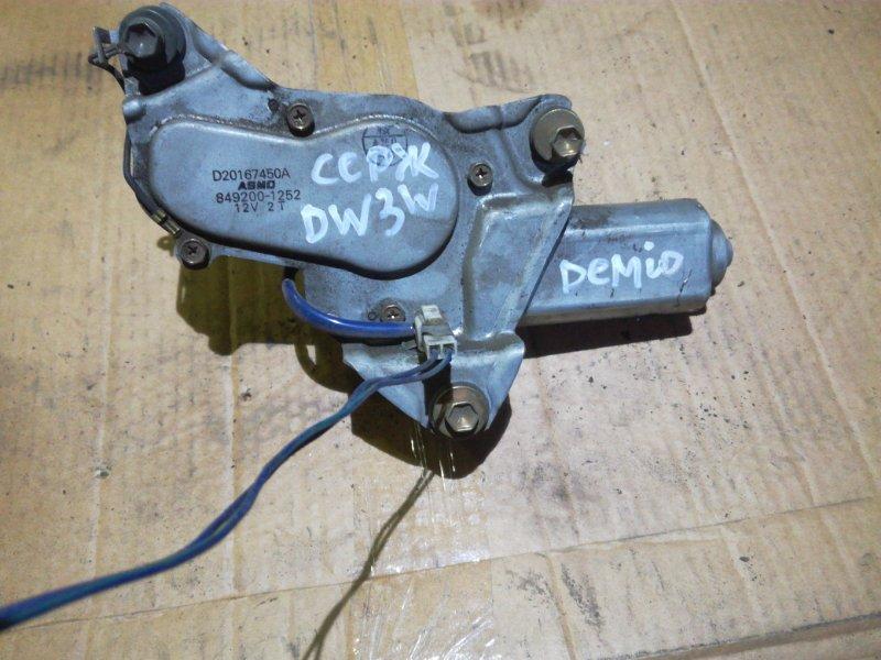 Мотор дворника Mazda Demio DW3W B3 задний