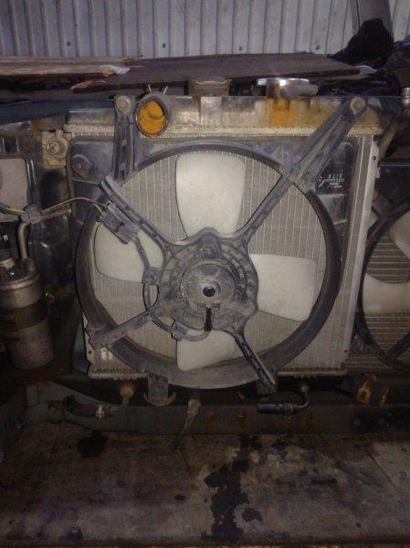 Вентилятор радиатора Mazda Demio DW3WF B3 1996 левый