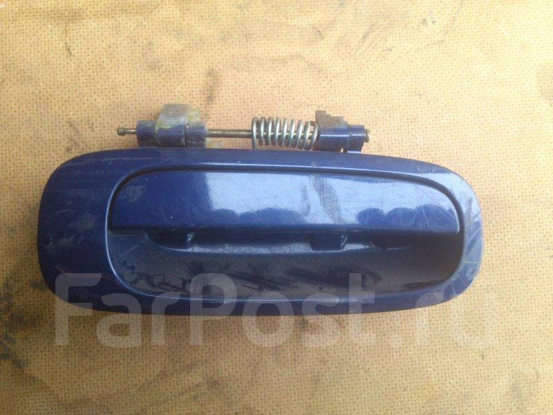 Ручка двери внешняя Toyota Ipsum CXM10 3CTE задняя правая