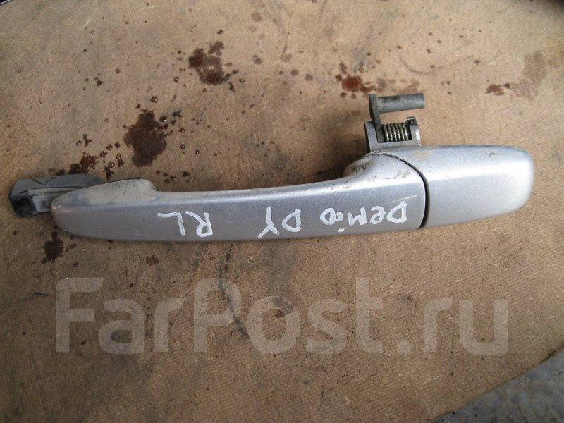 Ручка двери внешняя Mazda Demio DY3R задняя левая