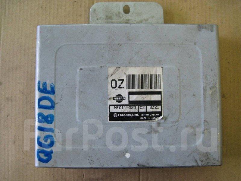 Блок управления двигателя Nissan Bluebird QU14 QG18DE