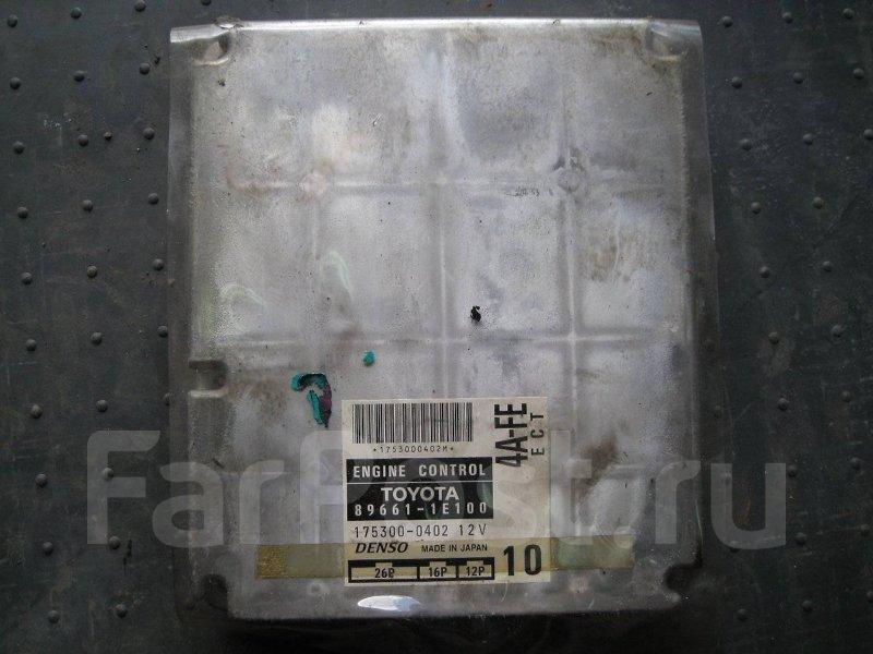 Блок управления двигателя Toyota Sprinter Marino AE101 4AFE