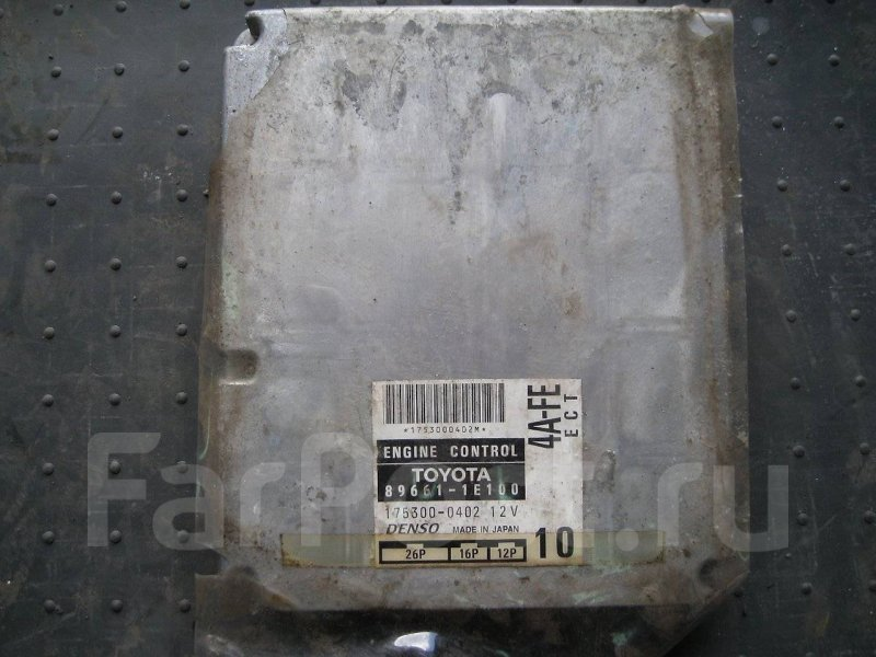 Блок управления двигателя Toyota Corolla Ceres AE101 4AFE