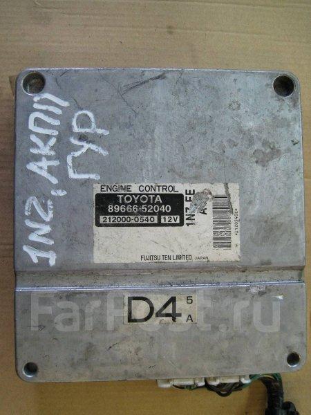 Блок управления двигателя Toyota Vitz NCP10 2NZFE