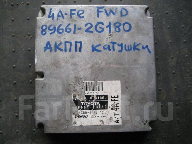 Блок управления двигателя Toyota Corona AT210 4AFE