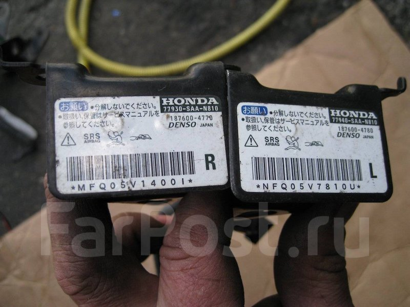 Датчик airbag Honda Fit GD1 передний