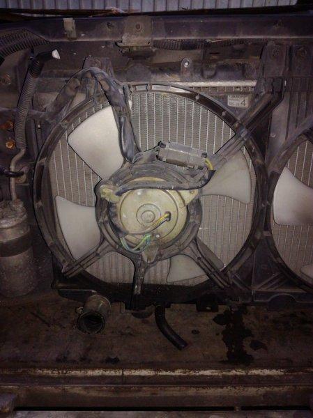 Вентилятор радиатора Nissan Almera N15 CD20 левый