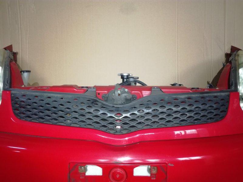 Решетка радиатора Toyota Echo Verso NCP20 1NDTV 2002 передняя верхняя