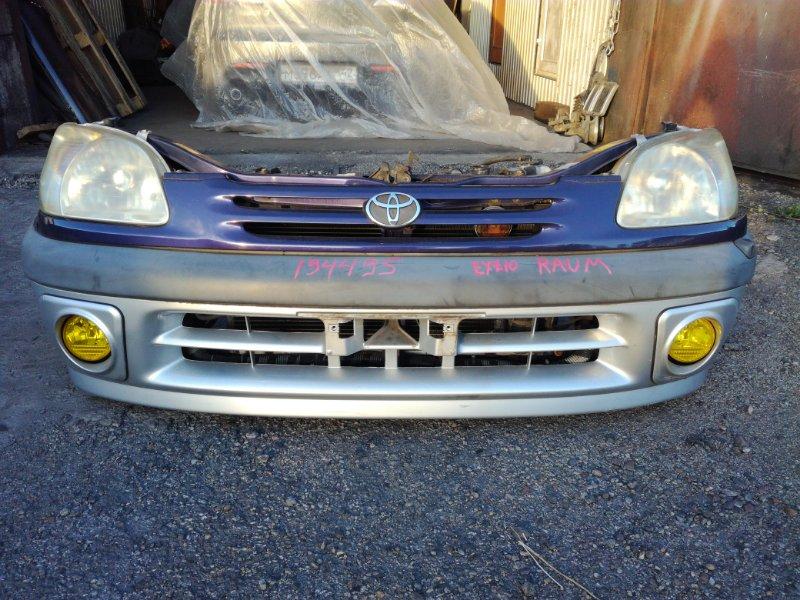 Бампер Toyota Raum EXZ10 5EFE 1997 передний