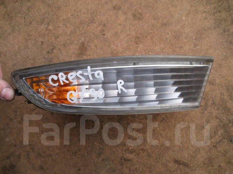 Повторитель в бампер Toyota Cresta GX90 1GFE передний правый
