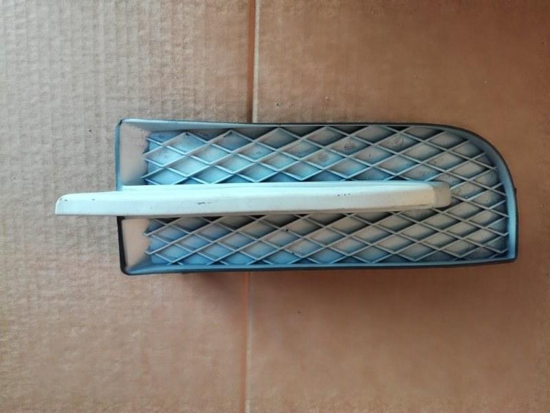 Заглушка бампера Chevrolet Aveo L14 передняя левая