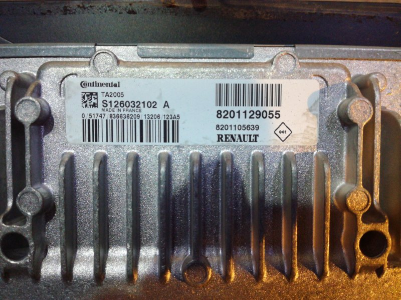 Блок управления акпп Renault Sandero Stepway G15 K4M